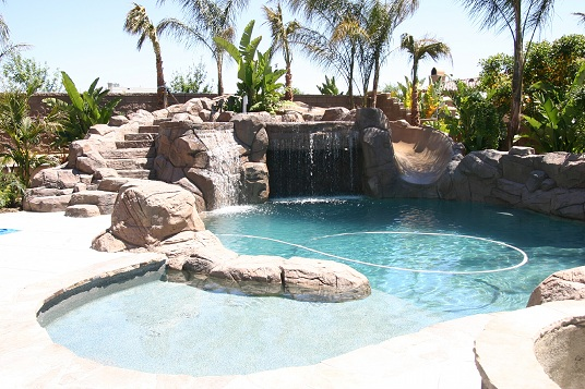 1000 Images About Pool Waterfall Ideas On Pinterest